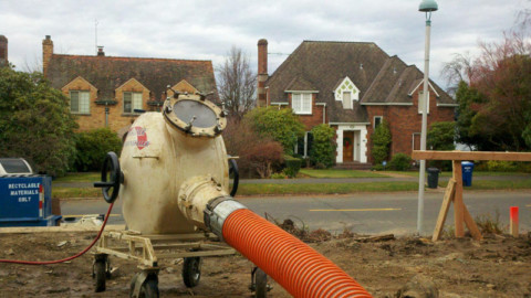 Trenchless sewer repairs in Armidale