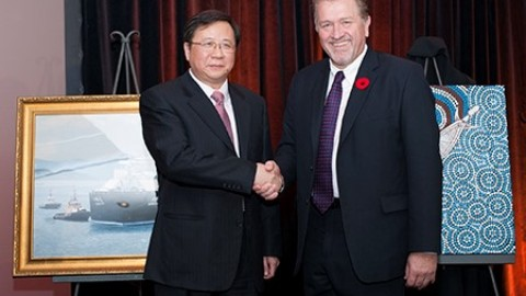 Queensland LNG deal with Chinese oil company signed