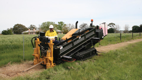 Directional drilling brings gas to the regions