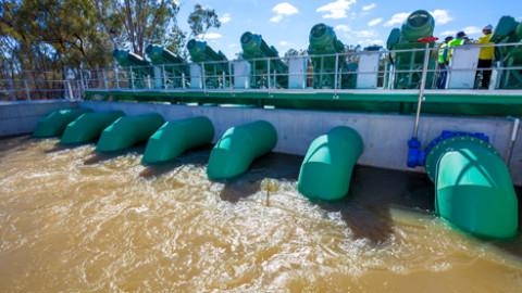 Collaborative approach sees flood project completed