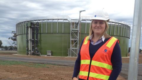 Julia Johns: Project Engineer, City West Water