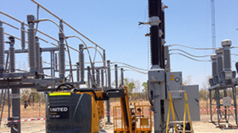 Pine Creek circuit breaker completed on time