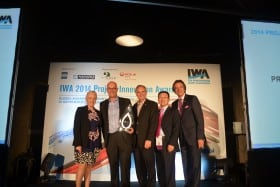 SCORe wins International Water Association award