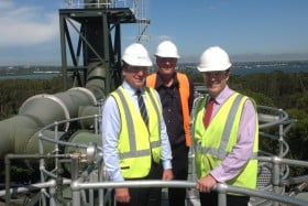 Cronulla wastewater treatment plant works complete