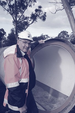 Andrew Moorhouse Project Manager, Melbourne Water.