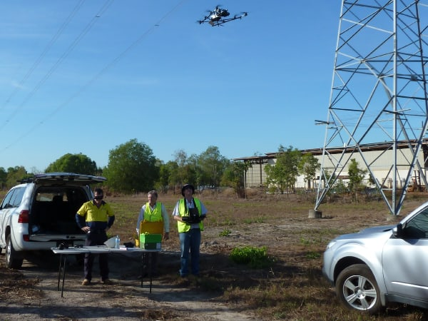 Drones to inspect NT power networks