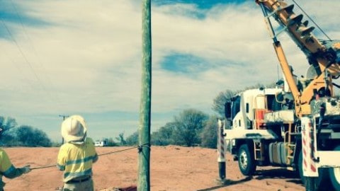 Longreach power projects near completion