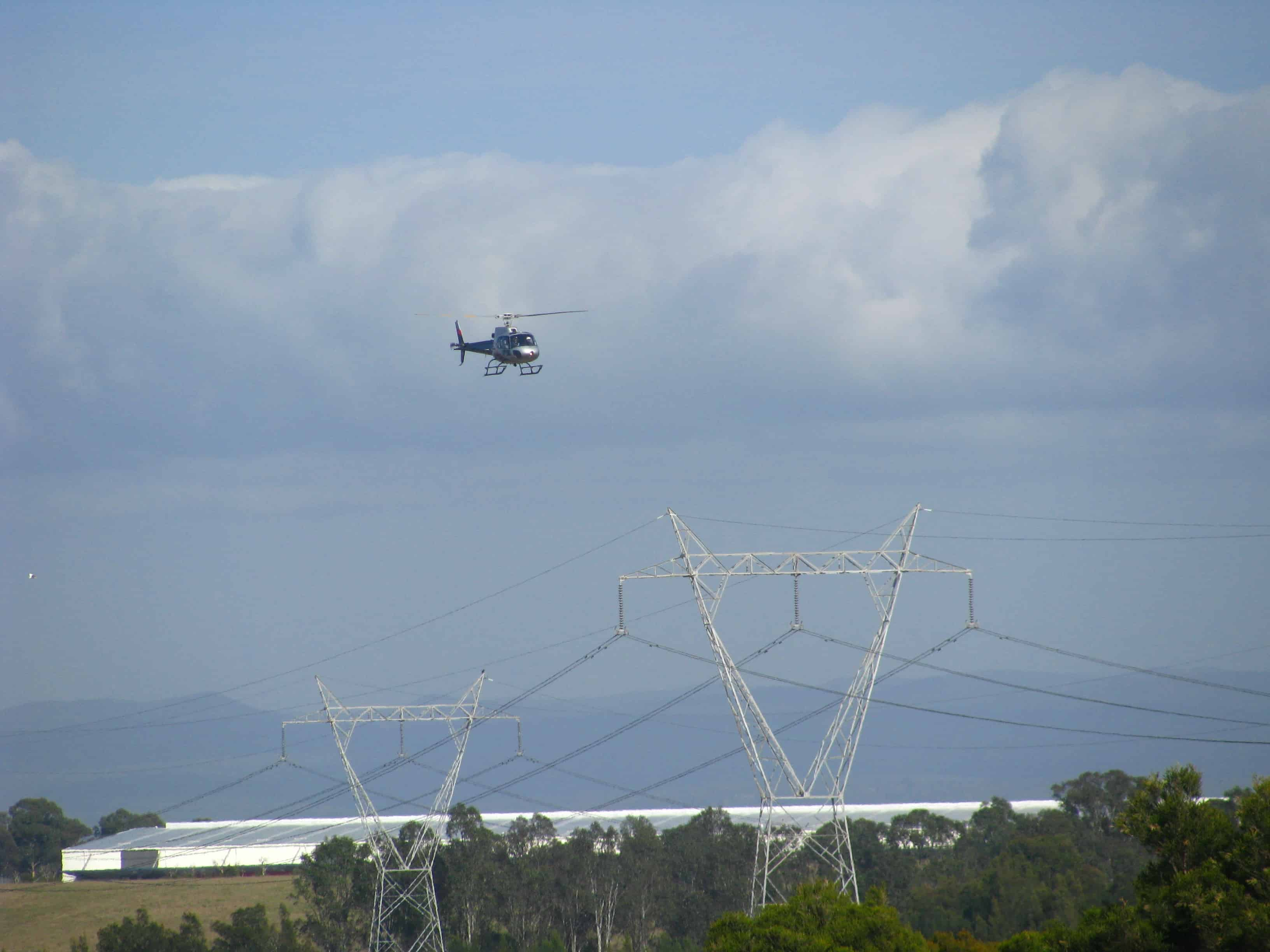 TransGrid takes to the skies