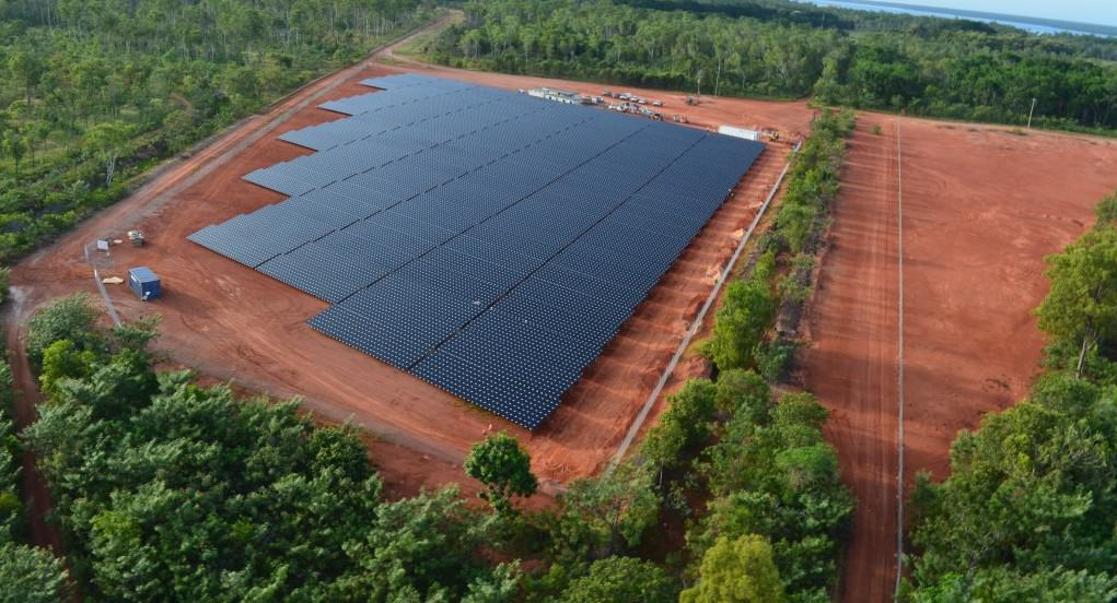 Diesel solar plant commences operation