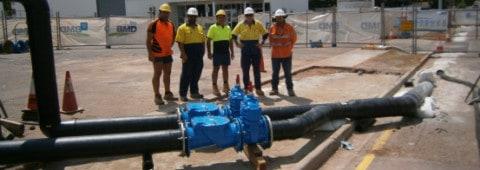Emergency sewer repair a success