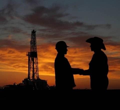 Farmers, oil and gas industry break bread