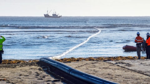 Replacement Anglesea pipeline installed