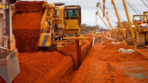 Eastern Goldfields Pipeline completed
