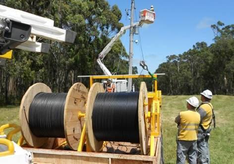 Technology to reduce powerline bushfire risk