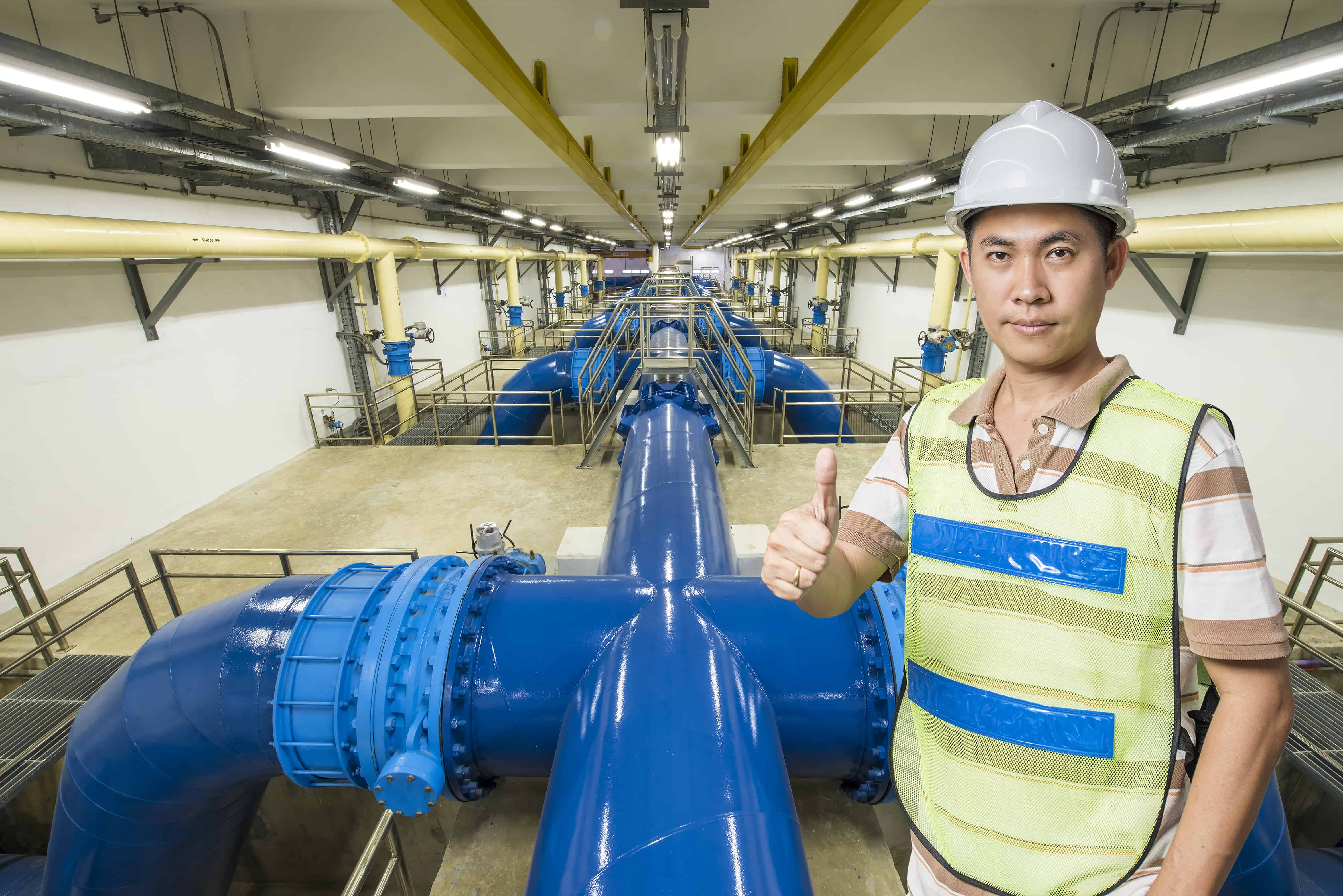 Balmain wastewater station complete