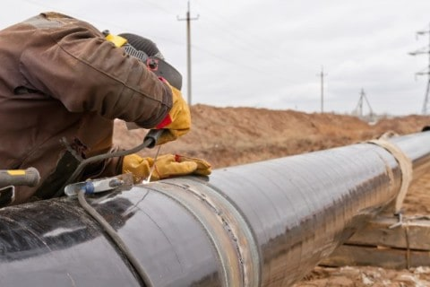 Esso Australia's new gas pipeline