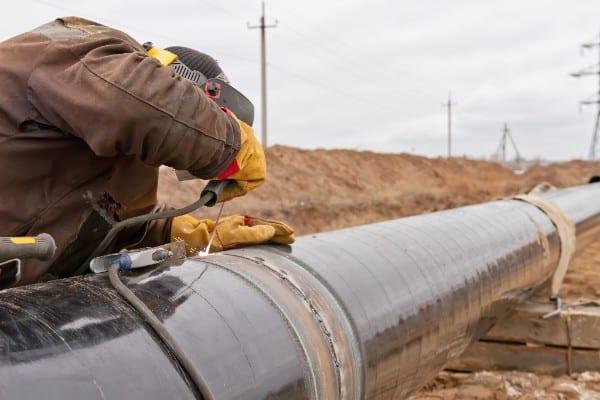 Esso Australia's new gas pipeline