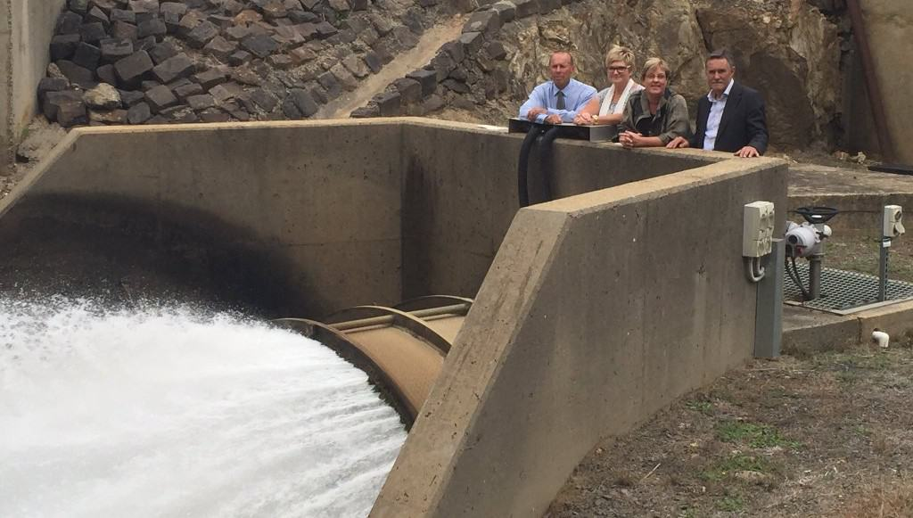 Hydro-electric project contract awarded