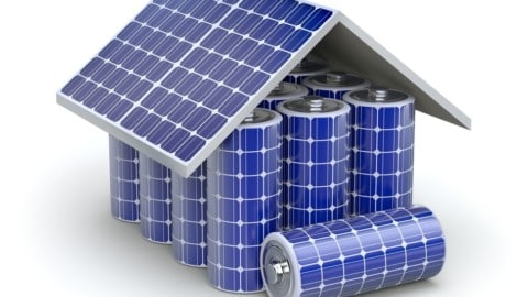 Renewable energy auction to support battery storage