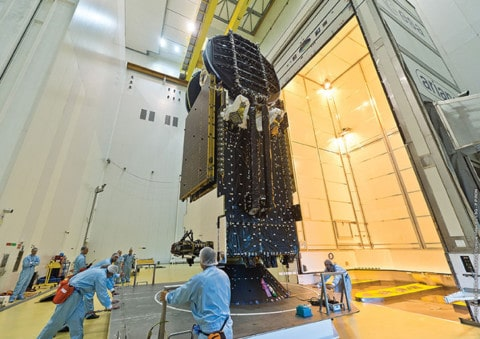 nbn launches Sky Muster satellite