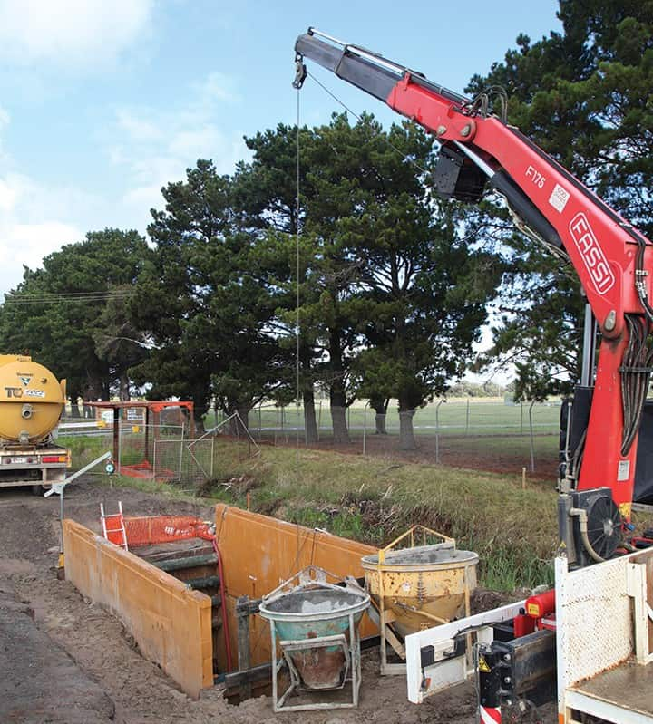 Trenchless technologies operate in a significantly reduced site footprint.