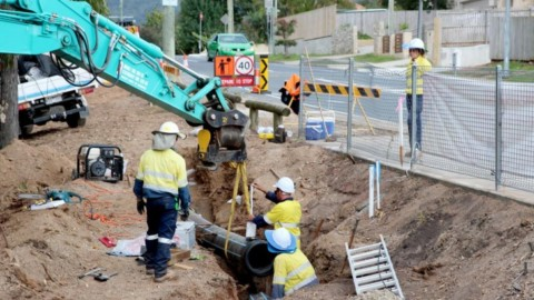 Brisbane pipeline replacement reaches milestone