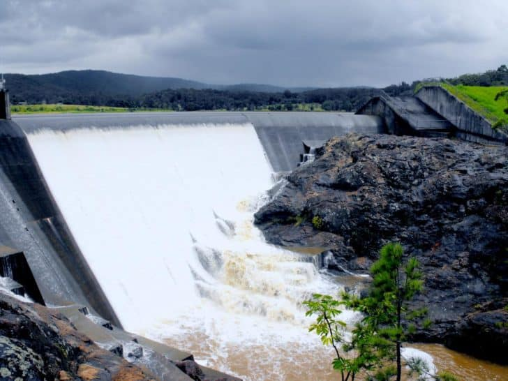 Wappa Dam on the Sunshine Coast is undergoing an upgrade as part of Seqwater's Dam Improvement Program.