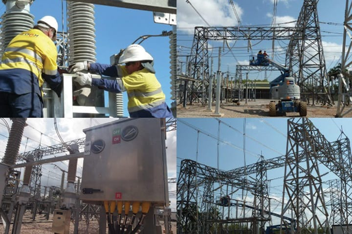 Northern Territory power network upgrade