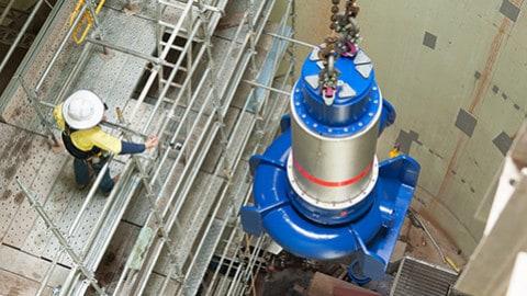 Wastewater pump station upgrade wins award