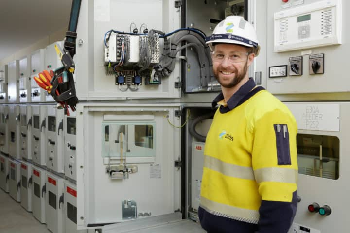 Zinfra Project Manager, Andrew Hadley