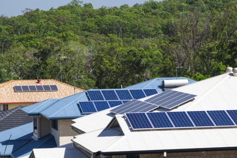 Funding commitment for new renewable powered microgrid