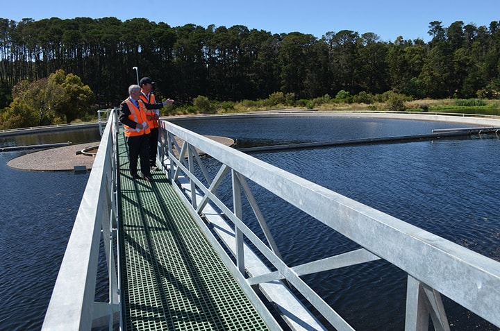 Ballarat wastewater treatment plant upgraded