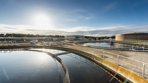 Wastewater treatment plant improves energy self-sufficiency