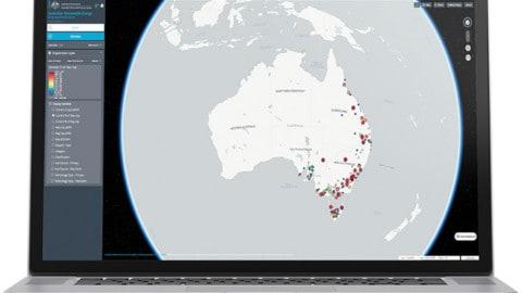 Bringing together geospatial data
