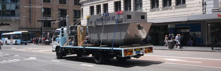 A Hydroflux GT DAF on the back of a truck in Sydney is a familiar site these days. There are over 10 units operating in the CBD area.