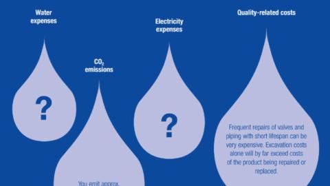 Reducing water loss with AVK