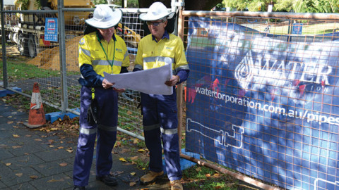 Renewing Perth's pipes for the future