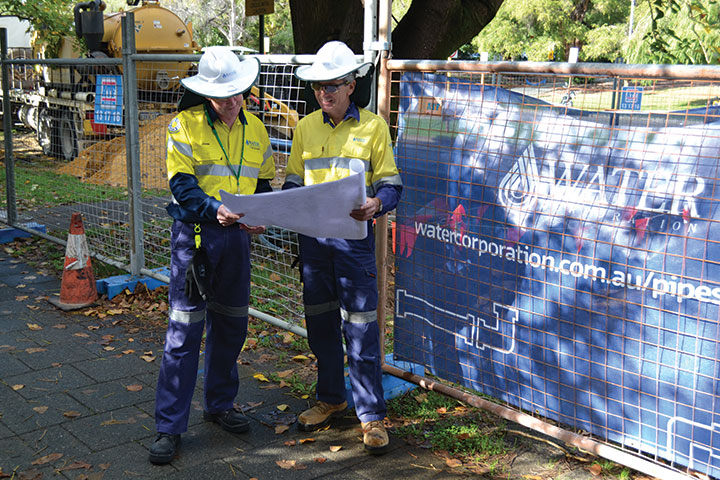 Water Corporation's Pipes for Perth program will replace 150km of water mains
