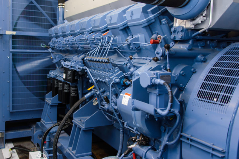 Tender: diesel generator replacement