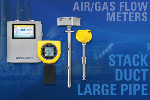 New multipoint thermal flow meters improve air/gas flow measurement