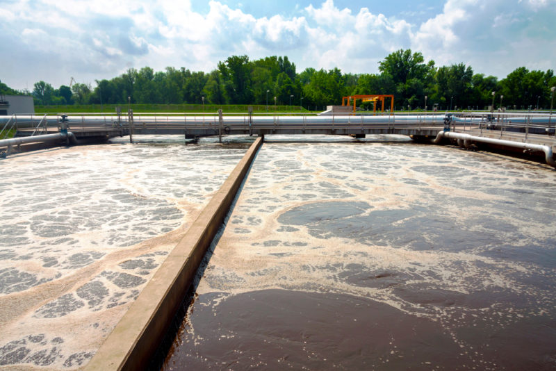 Wastewater treatment plant upgrade complete