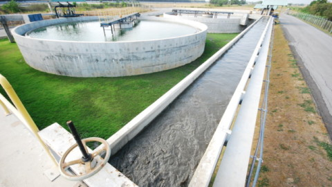 $15 million wastewater treatment plant works begin