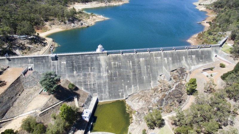 Dam upgrade reaches milestone