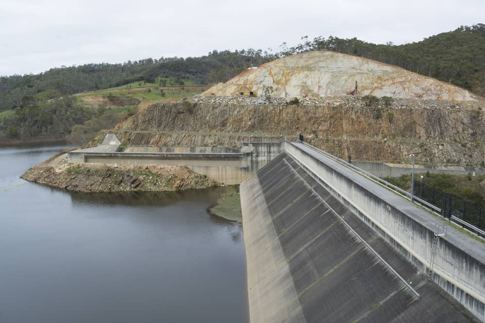 SA dam emptied for upgrades