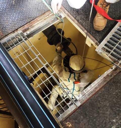 Remote cameras inspect underground assets in Albany