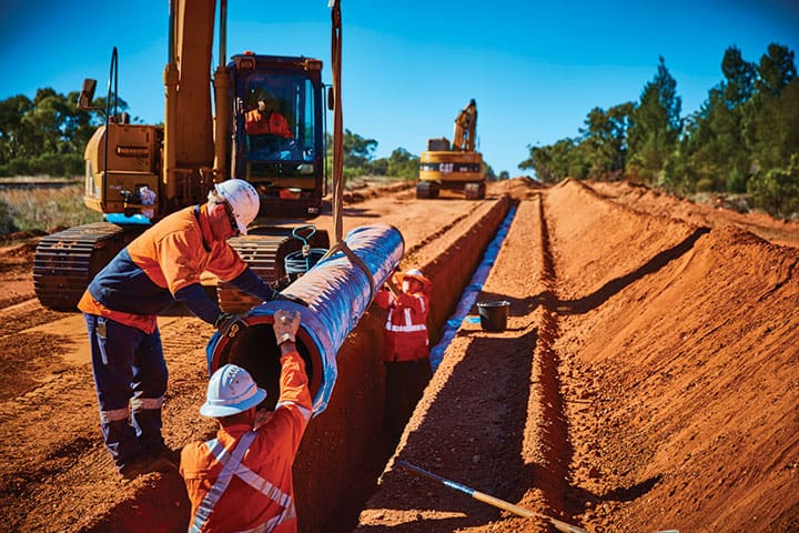 Infrastructure upgrade for the Nyngan to Cobar water supply pipeline