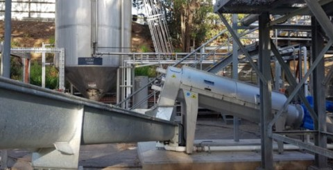 Rotary screw presses the key to dewatering sludge
