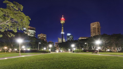 Sustainable street lighting for Sydney