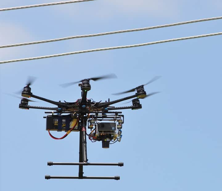 Drone autonomy for improved power pole inspection