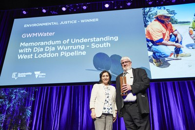 GWM Water wins sustainability award